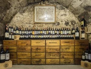 A picture of a wine cellar, just one inventive way of extending your home